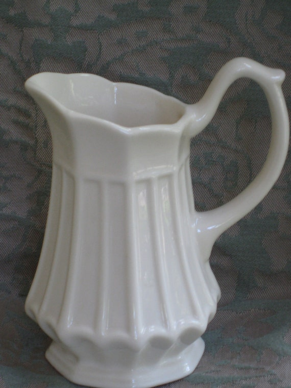 Thatcham Creamware Small Pitcher or Creamer - VIntage