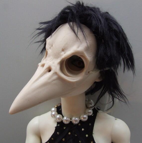 West Nile Charlotte resin bjd mask