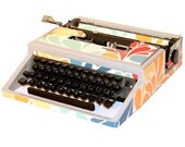 "Revitalized Olivetti Typewriter ""California Love"" Professionally Refurbished Portable & Two New Ribbons"