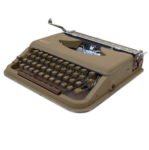 RESERVED for CLAIRE - Revitalized Antares Parva Typewriter Professionally Refurbished Portable & Two New Ribbons