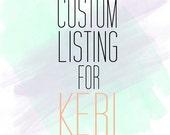 Custom Listing for KERI