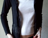 MOSCHINO cheap and chic vintage beaded cardigan