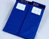 Dr. Who TARDIS inspired iPad case
