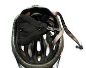 Bicycle Helmet Ear Warmers Black Wool Bike Accessories