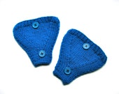Bicycle Accessories Helmet Ear Warmers Blue Wool
