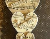 Vintage Heart Pegs