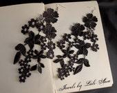 Dixie floral lace necklace