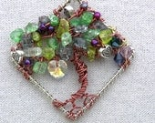 Necklace - Tree of Life, Hearts