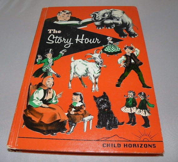 """1959 Hardcover Children's Book """"The Story Hour"""""""