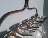Vintage Rake Wine Glass Holder