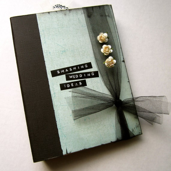 Wedding Memory Book Smash Book Planner Organizer Binder