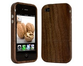 Wood iPhone 4 4s Case exotic Walnut 34% off sale ends soon