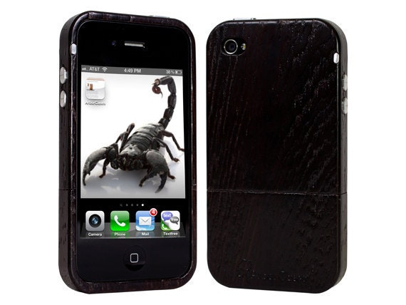 Wood iPhone Case Luxury Wenge Wood