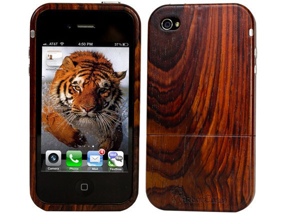 Wood iPhone Case Exotic Cocobolo Wood limited edition