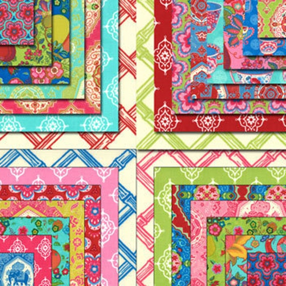 Tradewinds Charm Pack by Lily Ashbury  for Moda Fabrics Quilt Fabric Squares New Trade Winds