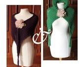 Somnium & Venenum shawls with matching mittens - Patterns