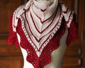 Ledrada - Pattern - Shawl and matching mitts