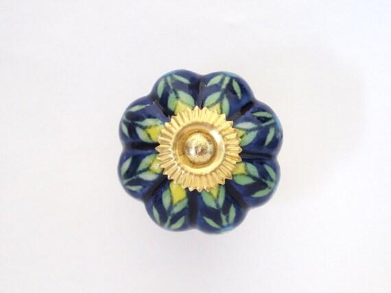 SALE - Blueberry Blossom Knob
