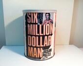 Six Million Dollar Man Jigsaw Puzzle - 1975