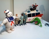 Vintage collection of Original Ghostbusters toys - 1984