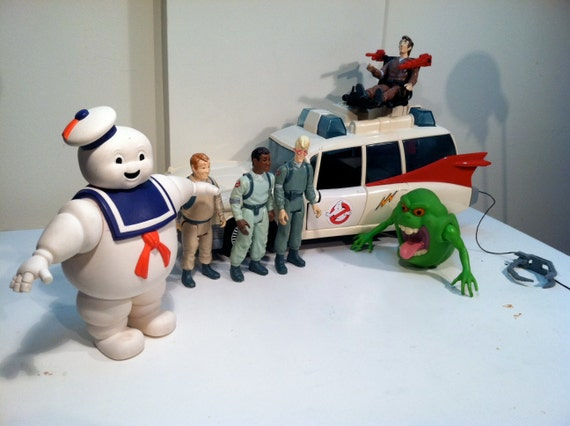 Best Ghostbuster Toys : Vintage collection of original ghostbusters toys