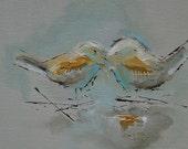 Bird Painting, Sparrow
