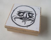 Me Gusta Hand-Carved Stamp