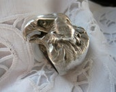SALESvintage eagle head silver ring.NOW 50 dollars instead of 80