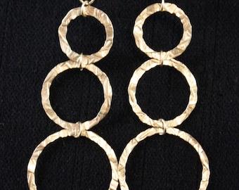 14 karat gold-filled earrings