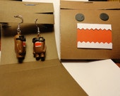 Studius Domo earring pair will help you look smart.  They come in their own handmade Matchbook case.