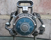 Ritchey The Lock.Bot, Recycled Metal Sculpture