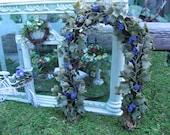 Dollhouse Miniature Garden Grapevine Arbor