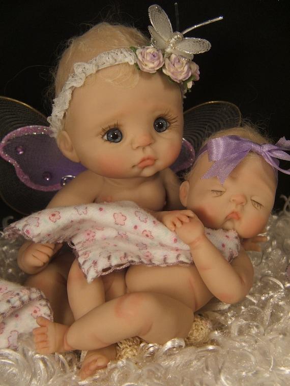 Ooak Polymer Clay Baby Art Doll Supply Kit By Rasbubbyhill