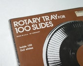 Vintage Rotary Tray for 100 Slides by Airequipt