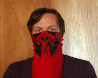 Darth Maul Bandit Bandana. Star Wars Bandana