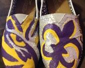 Custom LSU Gameday Shoes (TOMS)