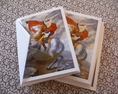 Set of four blank cards- The Ultimate Napoleon Complex