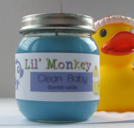 Clean Baby Scented Candle