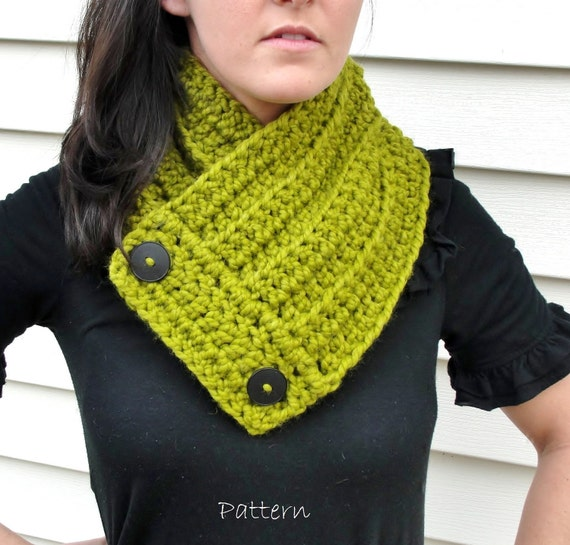 Pattern: One Skein Crochet Neck Warmer