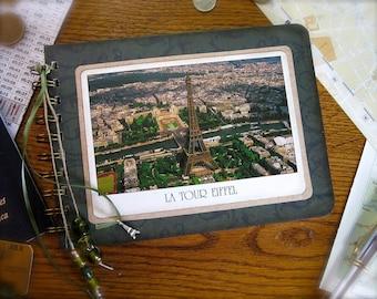Paris post card journal