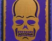 Gold Conehead Skull