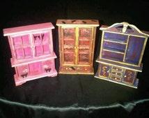 Gothic Dollhouse Furniture Set