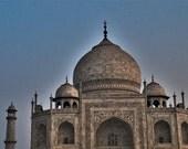 Ethereal Taj Mahal at Dawn (Agra, India) - 12x18 metal print