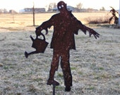 Zombie Gardener Stake Undead Ghoul Yard Invasion of the Walking Dead Decoration - gardenstake