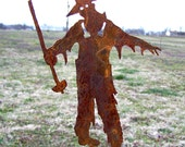 Zombie Farmer Stake Undead Ghoul Yard Invasion of the Walking Dead Decoration