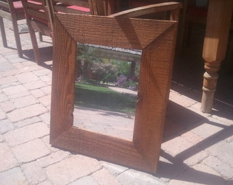 rough cut mirror