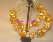 Gold Sequence Ball Basketball Wives  Hoops Poparazzi inspired