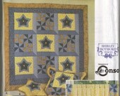 "Simplicity ""Quilt Block Club"" Sewing Pattern 9976: Star Bright & Pinwheel"