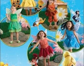 Simplicity Costume Sewing Pattern 0805 (aka 2872) - Child's Tinkerbell/Disney Fairy Costumes (3-8)