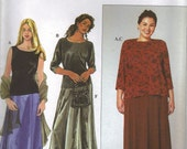 Simplicity Sewing Pattern 9003 - Women's Skirt, Purse, Knit Top, and Cardigan (18w-24w, 26w-32w)